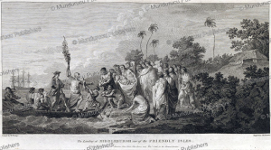 the landing at middleburgh, one of the friendly isles, tonga, willima hodges, 1777