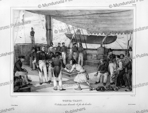 chief vodolai requests to end hostilities, tonga, louis auguste de sainson, 1835