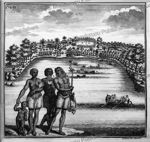 natives of the island rotterdam, now nomuka, one of the tonga islands, f. ottens, 1726