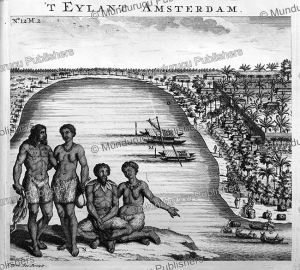 natives of the island amsterdam, now tongatapu, f. ottens, 1726