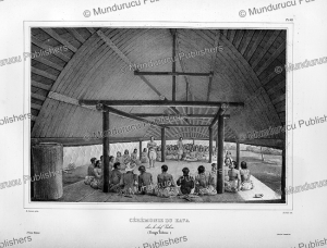 Kava drinking ceremony on Tonga, Louis Auguste de Sainson, 1835 | Photos and Images | Travel
