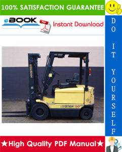 Hyster J40XM2, J50XM2, J60XM2, J65XM2 (A216) Electric Forklift Trucks Parts Manual | eBooks | Technical
