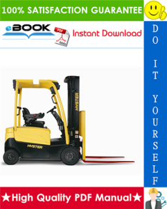 hyster j40xm, j50xm, j60xm, j65xm (a216) electric forklift trucks parts manual