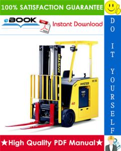 Hyster E30HSD, E35HSD, E40HSD (A219) Electric Forklift Trucks Parts Manual | eBooks | Technical