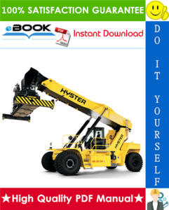 Hyster HR45-EC, HR48-EC (A228) Yardmaster Diesel Container Handler Parts Manual | eBooks | Technical