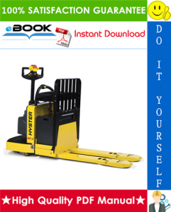 Hyster B60Z (A230) Rider Pallet Truck Parts Manual | eBooks | Technical