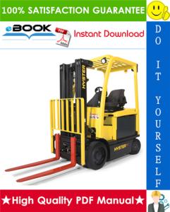 hyster e45xn, e50xn, e55xn, e60xn, e65xn, e70xn (a268) 4-wheel electric lift trucks parts manual
