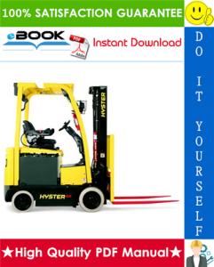 Hyster E30XN, E35XN, E40XN (A269) Electric Lift 4-Wheel Truck Parts Manual | eBooks | Technical