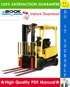 Hyster J45XN, J50XN, J60XN, J70XN (A276) 4-Wheel Electric Lift Trucks Parts Manual | eBooks | Technical