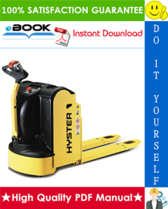 Hyster P2.0 (A290) Pedestrian Pallet Trucks Parts Manual | eBooks | Technical