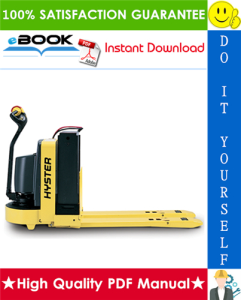 Hyster W20XTA, W30XTA, W40XTA (A453) Walkie High Lift Straddle Parts Manual | eBooks | Technical