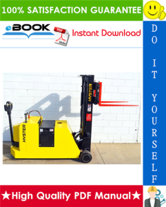 Hyster W20XTC, W30XTC, W40XTC (A454) Pallet Truck Parts Manual | eBooks | Technical