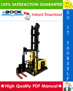 Hyster C1.8X, V40XMU (A465) Man-Up Turret Trucks Parts Manual | eBooks | Technical