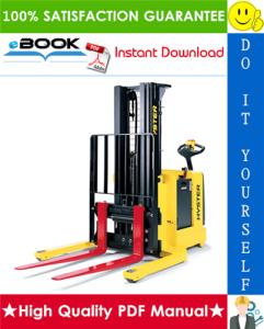 Hyster W20ZA, W25ZA (A495) Pallet Stacker Parts Manual   eBooks   Technical