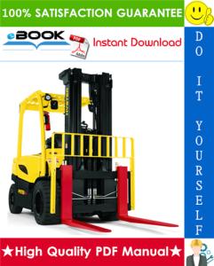 hyster j80xn, j90xn, j100xn, j100xln, j110xn, j120xn (a970) 4-wheel electric lift trucks parts manual
