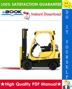 Hyster Spacesaver S25XL (S1.25XL), S30XL (S1.50XL), S35XL (S1.75XL) [B010] Forklift Trucks Parts Manual | eBooks | Technical