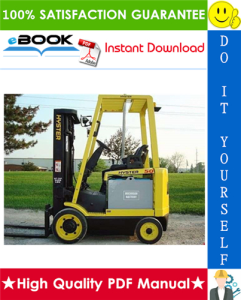 hyster e30b, e40b, e50b, e60bs (b108) electric forklift trucks parts manual