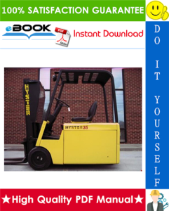 Hyster J25A, J25B, J30A, J30B, J35A, J35B, J30AS, J30BS (B160) Forklift Trucks Parts Manual | eBooks | Technical