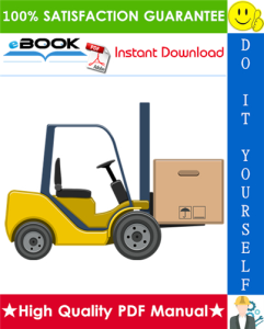 Hyster J2.00XL (J40XL), J2.50XL (J50XL), J3.00XL (J60XL) [B168] Forklift Trucks Parts Manual | eBooks | Technical