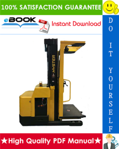 Hyster R30ES (B174) Electric Reach Truck Parts Manual | eBooks | Technical