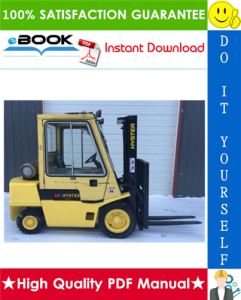 Hyster Challenger H2.00XL (H40XL), H2.50XL (H50XL), H3.00 (H60XL) [B177] Forklift Trucks Parts Manual | eBooks | Technical