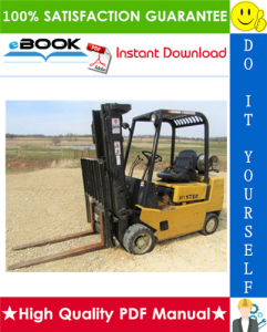 Hyster Spacesaver S40XL (S2.00XL), S50XL (S2.50XL), S60XL (S3.00XL) [B187] Forklift Trucks Parts Manual | eBooks | Technical
