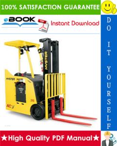 Hyster E30HSD2, E35HSD2, E40HSD2 (B219) 3-Wheel Electric Forklifts Parts Manual | eBooks | Technical