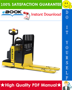 Hyster B60ZAC (B230) End Rider Pallet Trucks Parts Manual | eBooks | Technical