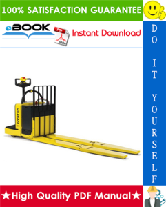 Hyster B80ZAC (B233) End Rider Pallet Trucks Parts Manual | eBooks | Technical