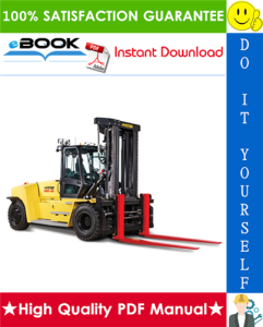 hyster h360-36hd, h360-48hd (b238) high-capacity forklift trucks parts manual