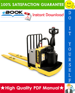 Hyster B80ZHD (B257) End Rider Pallet Truck Parts Manual | eBooks | Technical