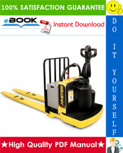 hyster b60zhd (b262) end rider pallet truck parts manual