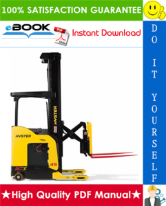 Hyster N30XMXDR3, N45XMXR3 (B264) Electric Reach Truck Parts Manual | eBooks | Technical