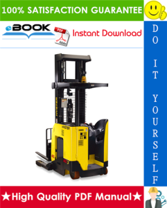 hyster n35zrs2, n40zrs2, n30zdrs2 (b265) reach truck forklifts parts manual