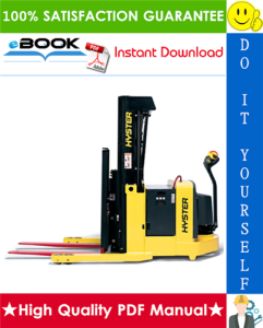 Hyster W20ZR, W30ZR (B455) Pallet Stackers Parts Manual | eBooks | Technical