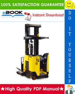 hyster n25xmdr2, n30xmr2, n40xmr2 (b470) electric forklift truck parts manual