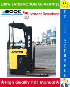 hyster n50xma2 (b471) electric forklift truck parts manual