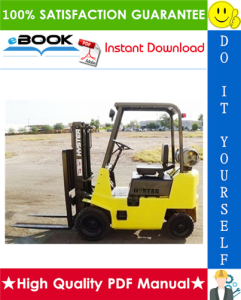 Hyster Challenger H25XL (H1.25XL), H30XL (H1.50XL), H35XL (H1.75XL) [C001] Forklift Trucks Parts Manual | eBooks | Technical