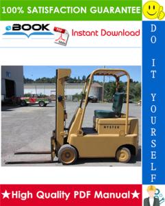 Hyster Spacesaver S30C, S40C, S50C (C002) Forklift Trucks Parts Manual | eBooks | Technical