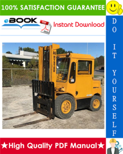 Hyster Challenger H60C, H70C, H80C, H90C (C005) Forklift Trucks Parts Manual | eBooks | Technical