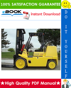 Hyster S135XL, S155XL, S135XL2, S155XL2 (C024) Forklift Trucks Parts Manual | eBooks | Technical