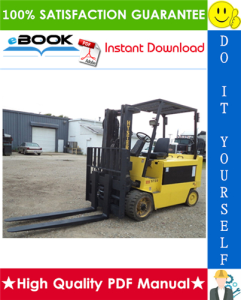 Hyster E70XL, E80XL, E100XL, E100XLS, E120XL (C098) Electric Forklift Trucks Parts Manual | eBooks | Technical