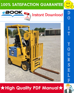 Hyster E25XL (E1.25XL), E30XL (E1.50XL), E35XL (E1.75XL) [C114] Forklift Trucks Parts Manual | eBooks | Technical