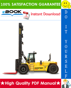 Hyster Challenger H36.00C (H800C), H40.00C (H880C), H44.00C (H970C), H48.00CH (H1050CH) [C117] Forklift Trucks Parts Manual | eBooks | Technical