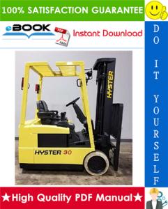 Hyster J30XMT, J35XMT, J40XMT (C160) Forklift Trucks Parts Manual | eBooks | Technical
