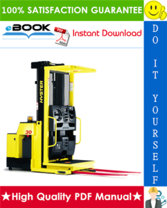 Hyster R30XMS (C174) Narrow Aisle Order Picker Parts Manual | eBooks | Technical