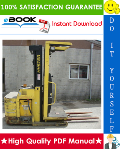 Hyster R40EH (C176) Electric Reach Truck Parts Manual | eBooks | Technical