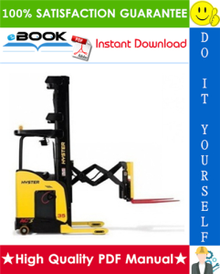 Hyster N30XMH (C210) Electric Reach Truck Parts Manual | eBooks | Technical