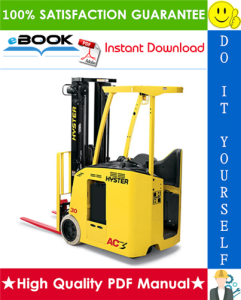 Hyster E30HSD3, E35HSD3, E40HSD3 (C219) 3-Wheel Electric Forklifts Parts Manual | eBooks | Technical
