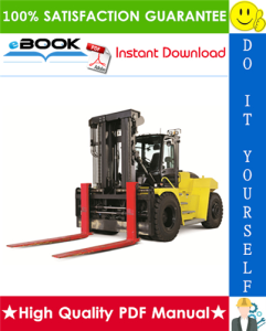 hyster h400hd, h400hds, h450hd, h450hds (c236) high-capacity forklift trucks parts manual